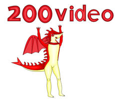 200th video thumbnail! by DragonTruLoverManiak