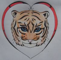 Tiger Tattoo Design by Perianth5
