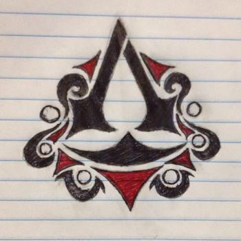 Assassin's Creed symbol design by WRMCHN3