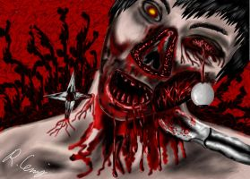 Zombie :o by Afflicted-Laughy