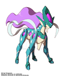 Commission : Model Suicune Form by Tomycase