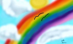 A Lovely Rainbow in The Sky by TheWizardofOzzy
