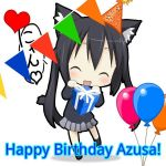 Happy Birthday Azunyan! 11th November. by P0k3monW0lf
