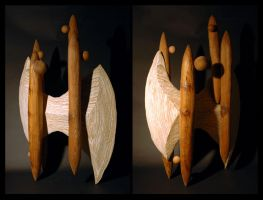 Sculpture - Wood by jake10684