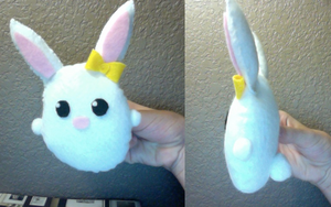 Bunny Plushie by MagicSprinkles