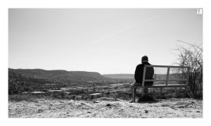 The Old Man and the Bench by at-p