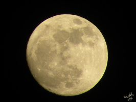 Super Perigee Moon by Letohatchee