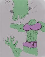 Ino hulk Comic 4 by 680000