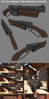 TF2 Scattergun Finished by Elbagast