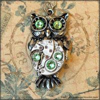 Mechanical Night Owl by SoulCatcher06