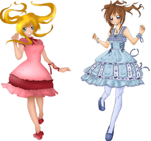 Lolita Girlzz :Color Collab: by Pinlicous-Bases