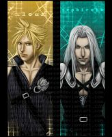 FF7 Bookmarks: Set 1 by Artistic-Defiance