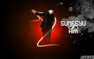 GLOW Sunggyu Kim Wallpaper by supremepanda