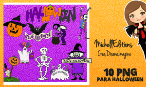 Pack De Halloween PNG MichellEditions by MichellEditions