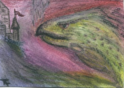 At Break of Day - ACEO - SOLD by Orchid-Black
