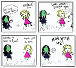Wicked Comic Doodle thing by Michiko-laughs