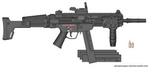 Britannia Small Arms MP762 PDW by SGxFREEKILL
