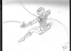 Spiderman Sketch by Sara-Mapes