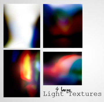4 Large Light Textures by AndroidBrushes
