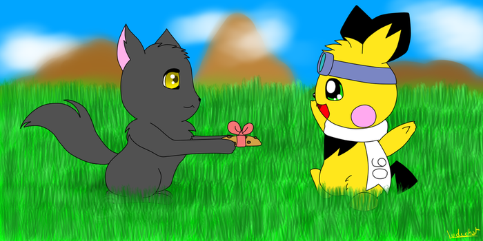 Gift for Pichu90 by Ludichat