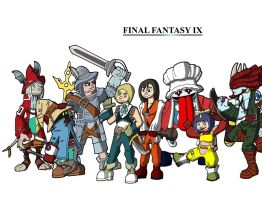 Final Fantasy IX by FearTheMeatball