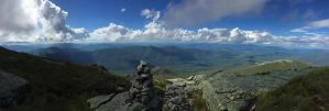 Top of Algonquin Peak - Adirondacks by EuphoriouSin