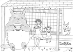 My Neighbor Totoro by ZeeShiKing