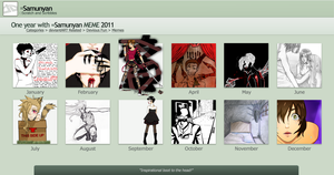 2011 Art Summary meme by Sabubu