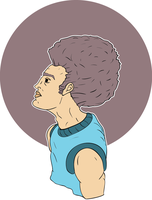 Afro by caseharts