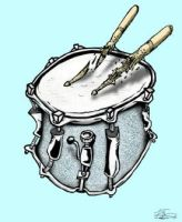 snare drum by kirkfinger