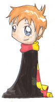 HP Watercolors- Ron by gryffindor-girl