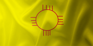 New Mexico Flag.... Kinda by ZhaneAugustine