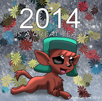 South Park: 2014 is a Great Year by KelseyEdward