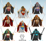 Smashified: Toon Ganondorf Costumes by Atlas-Divide