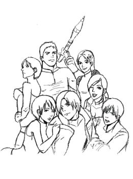 the resident evil guys by carljohnson1231