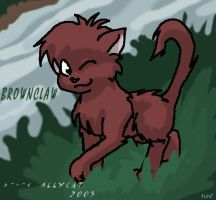 Brownclaw by xAllyCat