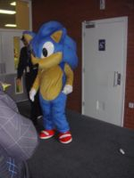 Sonic has left the restroom by MeglifKaddy