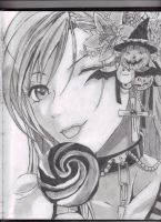 Moka Rosario+vampire by Gullwing45