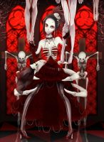 The girl fell in love with skeleton. by Akizuki-Hyoune