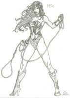 Wonder Woman sketch by RV1994