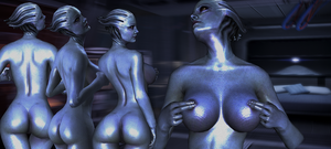 Sexy Liara Tsoni by hentaithimy