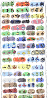 Atlantia Region Pokedex by Pokekoks