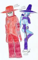 Little AnonSider and Miss MagicaSider by DarkOliver