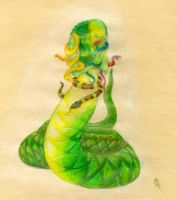 The Lady Serpent by HikariKage-Cat