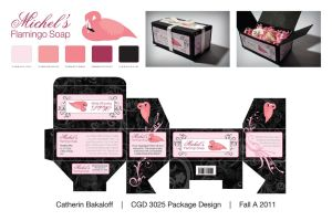Flamingo Soap Package by Kit7Kat