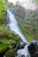 Starvation Creek fall's by ringmale