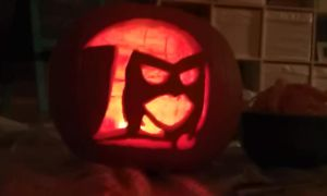 Quoth the Raven'o'Lantern by EdenAlicePoe