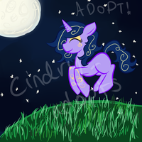 MLP - Adoptable Dusk Aurora [CLOSED] by CindryTuna