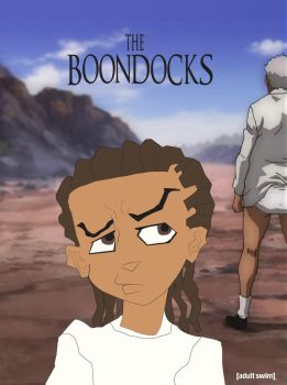 Riley of Boondocks Poster by RdaVinci36