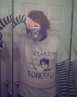 Gerard Puts the Fun in Funeral by Jerridiot